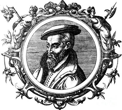 Georgius Agricola, German Scholar Art Print by Science Source