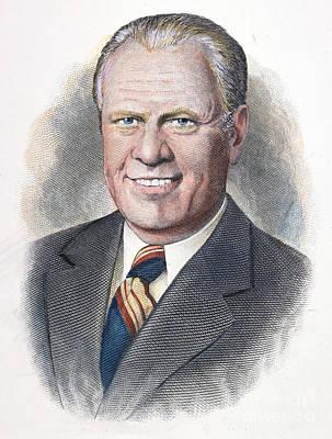 Gerald Ford (1913-2006) Art Print by Granger
