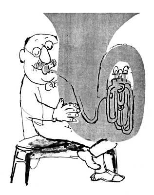 Gerard Hoffnung (1925-1959) Art Print by Granger