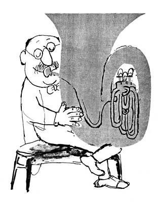 Gerard Hoffnung (1925-1959) Print by Granger