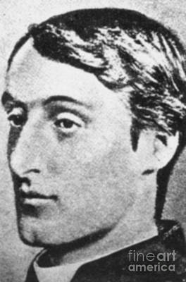 Manley Photograph - Gerard Manley Hopkins by Science Source