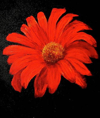 Gerbera Art Print by Heather Matthews