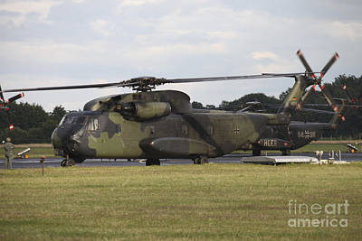 German Army Ch-53g Helicopters, Germany Art Print by Timm Ziegenthaler