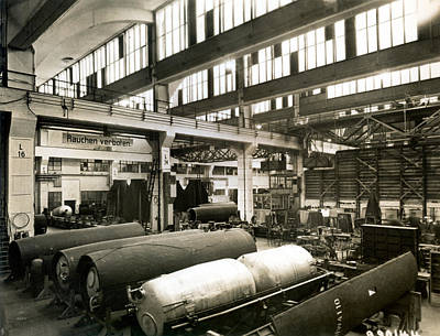 Peenemunde Photograph - German Rocket Factory, 1943 by Detlev Van Ravenswaay