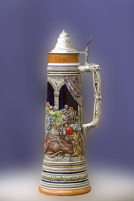 Photograph - German Steins by David Lester