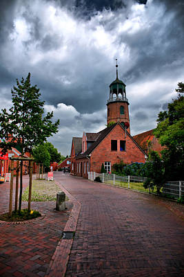 Art Print featuring the photograph German Town by Edward Myers