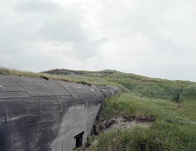 German Ww2 Bunker  Original by Jan W Faul