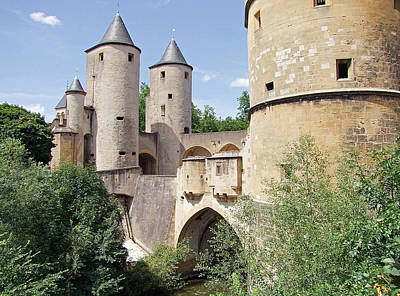 Germans Gate Metz France Original
