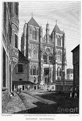 Germany: Regensburg, 1823 Art Print by Granger