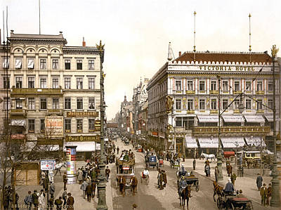 Germany, The Victoria Hotel, Unter Den Print by Everett