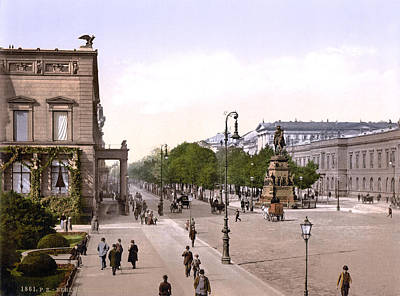Germany, Unter Den Linden, Berlin Print by Everett