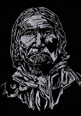 Geronimo Art Print by Jim Ross