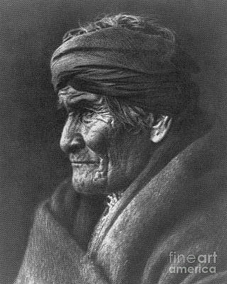 Geronimo, Native American Apache War Art Print by Photo Researchers