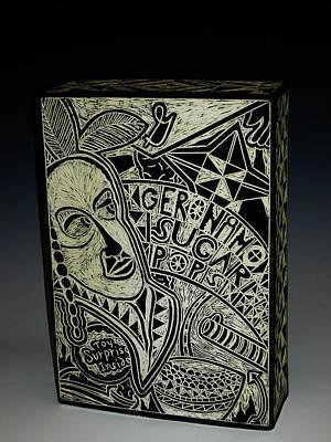 Geronimo Sugar Pops Art Print by Ken McCollum