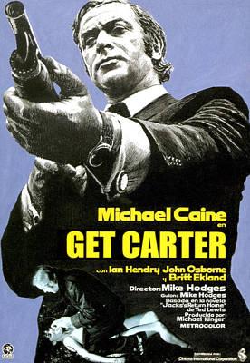 Get Carter, Michael Caine, 1971 Art Print by Everett