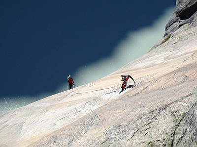 Photograph - Getting Higher by Olivier Steiner