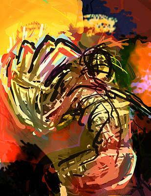 Destruction Digital Art - Getting Myself I Can't Look by James Thomas