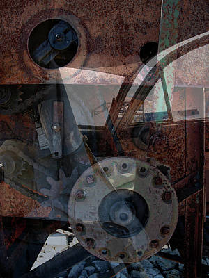 Photograph - Getting The Gears by John Jacquemain