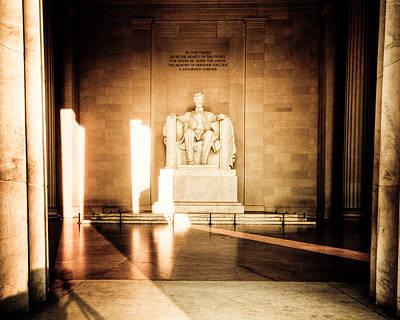 Gettysburg Address Photograph - Gettysburg Address by David Hahn