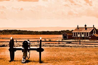 Gettysburg Color Art Print by Justin Mac Intyre