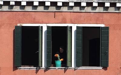 Photograph - Ghetto Windows by Keith Stokes