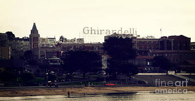 Bay Area Photograph - Ghirardelli Square by Linda Woods