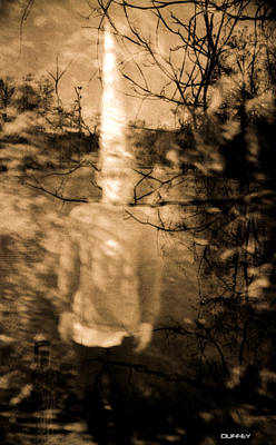 Photograph - Ghost Boy In A Cone Hat In Swamp by Doug Duffey