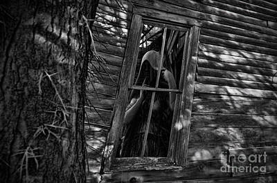 Photograph - Ghost In Window by David Arment