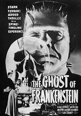 Frankenstein Photograph - Ghost Of Frankenstein by Granger