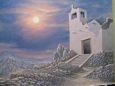 Ghost Of Terrlingua Art Print by Arley Blankenship