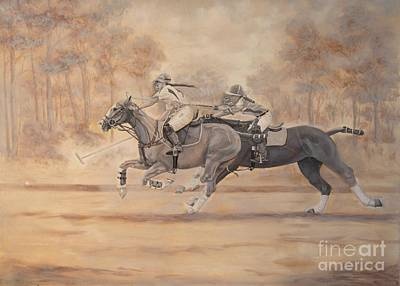 Painting - Ghost Riders by Roena King