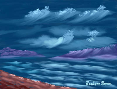 Digital Art - Ghost Sisters Cove by Barbara Burns
