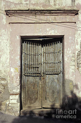 Photograph - Ghost Town Door Real De Catorce Mexico by John  Mitchell