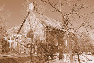 Photograph - Ghostly Chapel by Diane montana Jansson