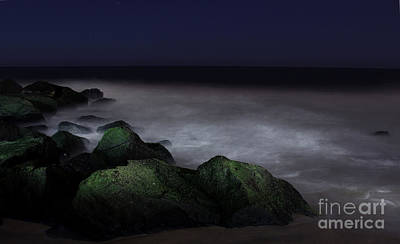 Photograph - Ghostly Jetty At Midnight by Lee Dos Santos