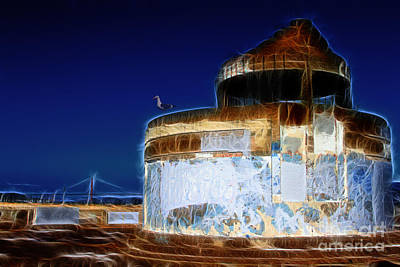 Photograph - Ghosts In The Bay . 7d14028 by Wingsdomain Art and Photography