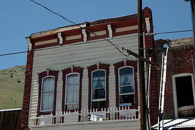 Window Photograph - Ghosts In Virgina City  by LeeAnn McLaneGoetz McLaneGoetzStudioLLCcom