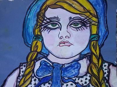 Poke Painting - Gianna by Greta Redzko