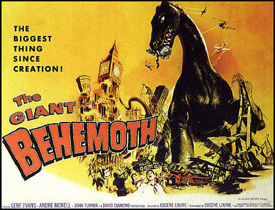Giant Behemoth, The, 1959 Art Print