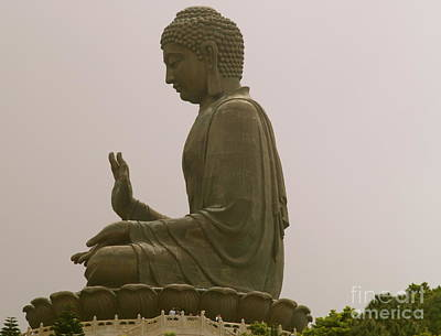 Photograph - Giant Buddha by Michael Canning