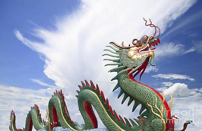 Giant Chinese Dragon  Original by Anek Suwannaphoom