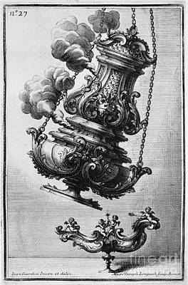 Giardini: Censer, C1714 Art Print by Granger