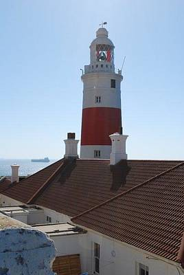 Photograph - Gibralter Lighthouse by Catherine Kurchinski