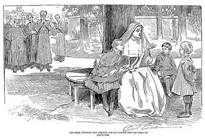 Gibson: Friends, 1901 Art Print