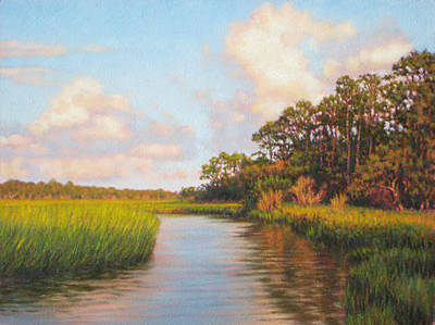 Painting - Giclee Afternoon On Jekyll Island  by Michael Story