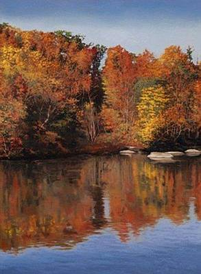 Painting - Giclee Congaree Autumn by Michael Story
