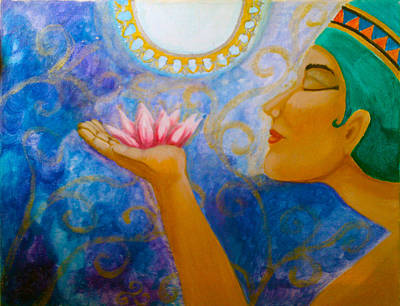 Painting - Gift Of The Nile by Janice T Keller-Kimball