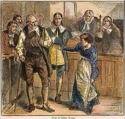 Discrimination Photograph - Giles Corey, 1692 by Granger