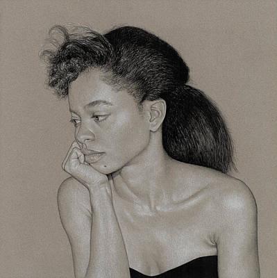 Gillian 1 Art Print by David Kleinsasser