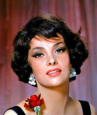 Publicity Shot Photograph - Gina Lollobrigida, Ca. 1960 by Everett